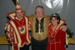 Prinz Lars I. und Prinzessin Anja I. gratulieren Franz Pyszko