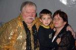 Franz mit Lebensgefährtin Uschi und Enkel Lukas
