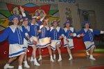 """Die """"Närrische Garde"""" vom Karnevalsverein Hess. Lichtenau"""