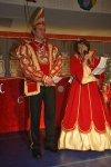 Prinz Lars I. und Prinzessin Anja I. begrüßen das närrische Volk