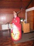 Präsident Klaus Missing begrüßt die Gäste beim Prinzenempfang 2005