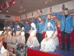Empfang des Niester Prinzenpaares und Prunksitzung am 15.1.2005