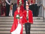Defelieren für den Ministerpräsidenten - Prinz Steffen I. und prinzessin Michelle I.