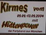 Kirmes 2004 in Nieste