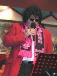 Klaus Missing als Schlagersänger beim Lohfeldener Karneval