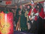 Tollitäten auf der Bühne - unsere Prinzenpaare Prinz Hans-Jürgen I. und Prinzessin Ute I. mit dem Kinderprinzenpaat Prinz Edgar
