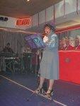 Bütt: Anne Henkel als Fahrlernerin - da blieb kein Auge im Saal trocken. Mit Witz und Humor schilderte die Ex-Prinzessin des NCC
