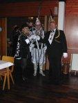 """Gäste aus Holland - Vom Karnevalsverein """"De Cascarvieten"""" aus Alphen a.d. Rijn - Page Monique , Prinz Cascar 38. und H"""