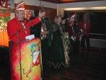 Sitzungspräsident Klaus Missing begrüßte die Gäste gemeinsam mit Prinz Hans-Jürgen I., Prinzessin Ute I., Kinderprinzessin Melod