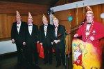 Ordensverleihung an die Vertreter der 1. Großen Karnevalsgesellschaft 1049 Lohfelden e.V.