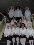 Witzenhausen 2003: Die Girlfriends des NCC nach Ihrem Auftritt