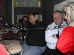 Im Studio - v.l. `Prinzessin Ute I., Franz Pyszko, Moderator Rüdiger Ullrich und Präsident Klaus Missing