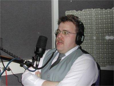 """Präsident Klaus Missing """"on Air"""" - er erzählte aus der Session 2003"""