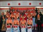 Jägermeister 2002 - Männerballett mit Prinzenpaar und Präsident