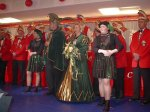 Kinderkarneval 2002: begrüßung durch das Prinzenpaar