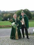 Prinzenpaar mit Blick in den Bergpark Wilhelmshöhe