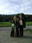 Im Hintergrund der Herkules, Kassels Wahrzeichen in Europas größten Bergpark