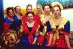 Tanz: Funkengarde des NCC nach ihrem Schautanz 2000