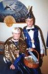 Kinderprinzenpaar 2001/2002: Prinz Andre I. und Prinzessin Lisa I. (Sandrisser)
