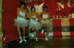 Männerballett des NCC 1984 - v.l. Klaus Missing, Edgar Paul und Dietmar Noll - im Männerballett begann seine Karrierere - 17 Jah