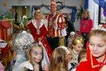 Besuch des Prinzenpaares im Kindergarten am Rosenmontag, 23.02.2009