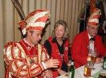 Prinz mit ehemaligen Prinzenpaar - Prinz Lars I. mit Ute und Jürgen Kuhn (Prinzenpaar 2002 und 2003)