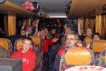Mit zwei Bussen auf der Fahrt nach Köln
